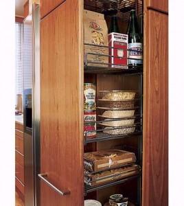 pantry organized kitchen remodeling