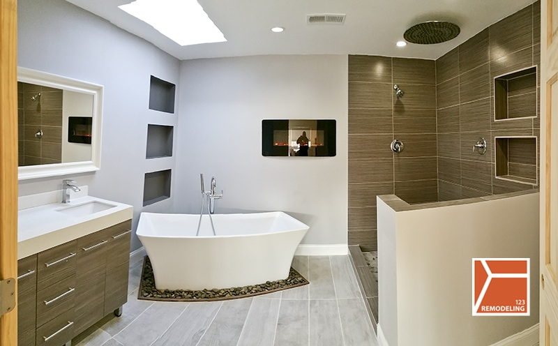 How Much Does It Cost To Tile Your Bathroom Or Kitchen