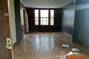 ainslie second floor interior remodeling