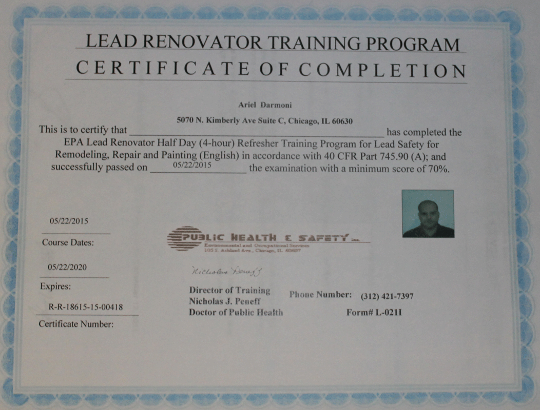 Did You Know 123 Remodeling Is An Epa Lead Safe Certified