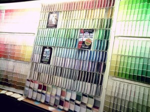 color selection paint remodeling