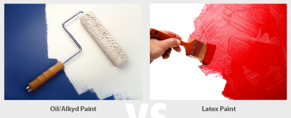 latex oil based paint remodeling