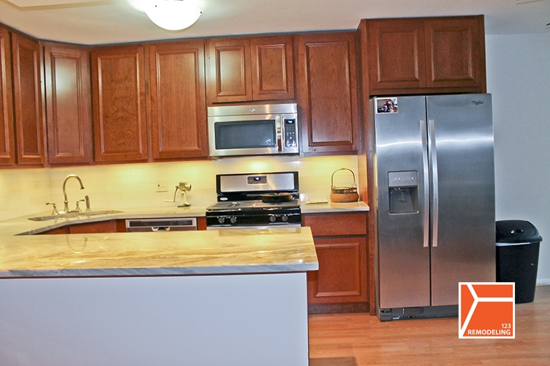 New East Side Kitchen Remodel - 400 E. Randolph, Chicago, IL - 123 ...