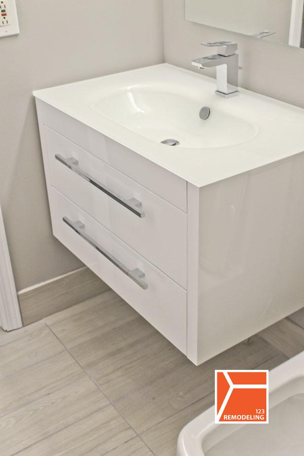 Condo Bathroom Renovation at 3660 N Lake Shore Dr in Lakeview