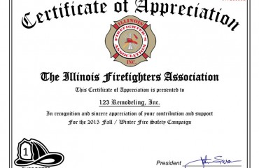 ifa certificate of appreciation