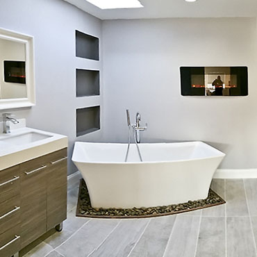 Luxury Bathroom After Renovation