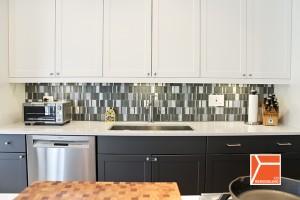 kitchen countertops led lighting sink