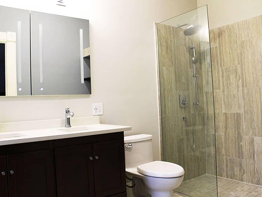 Master Bathroom Remodel at 1513 Asbury Ave in Evanston