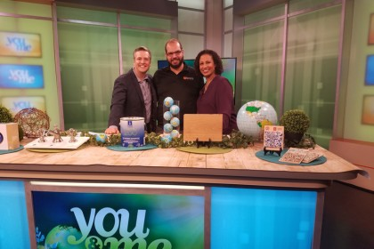 Earth Day Tv segment Ariel Darmoni 123 Remodeling