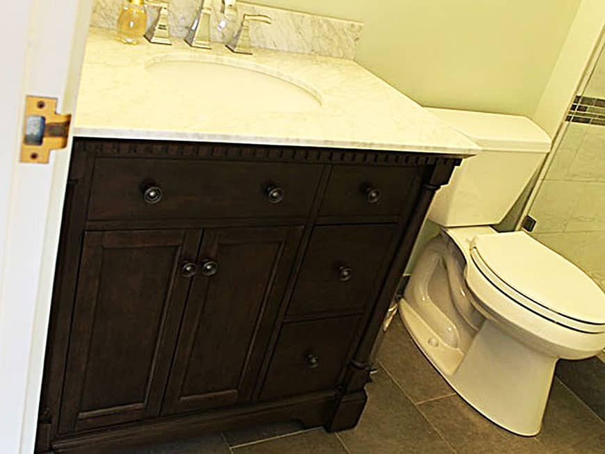 Condo Bathroom Renovation at 111 W. Maple St in Gold Coast