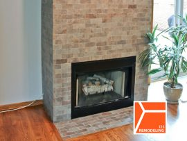 Townhouse Fireplace Remodel – 1435 S Prairie Ave, Chicago, IL (South Loop)