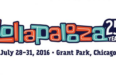 Lollapalooza 25th Year Anniversary Banner
