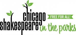 Shakespeare in the Park for free logo