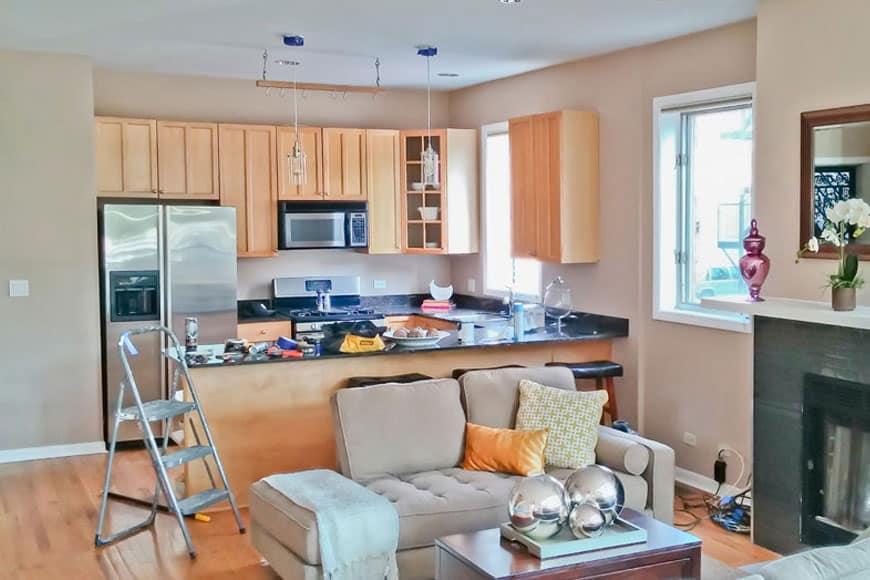 Condo Kitchen Remodel - 1029 N. Hermitage Ave, Chicago, IL (Wicker Park)
