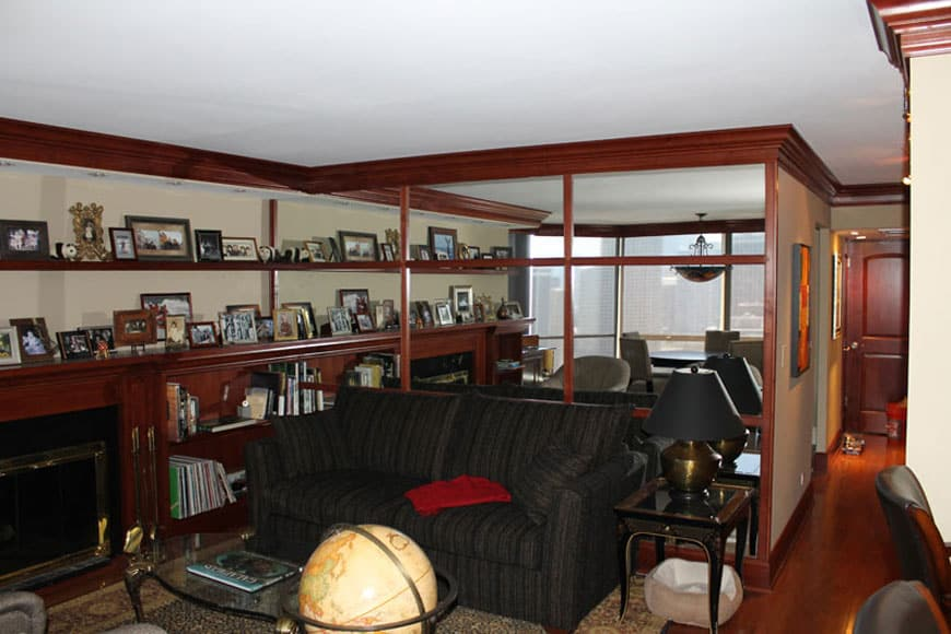 Condo Living Room Remodel - 1310 N Ritchie Court, Chicago,IL (Gold Coast)