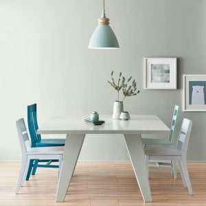 dining room painted with Valspar Rock Solid