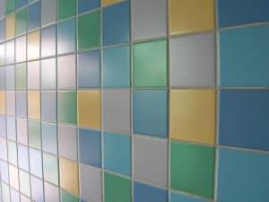 multi color tile