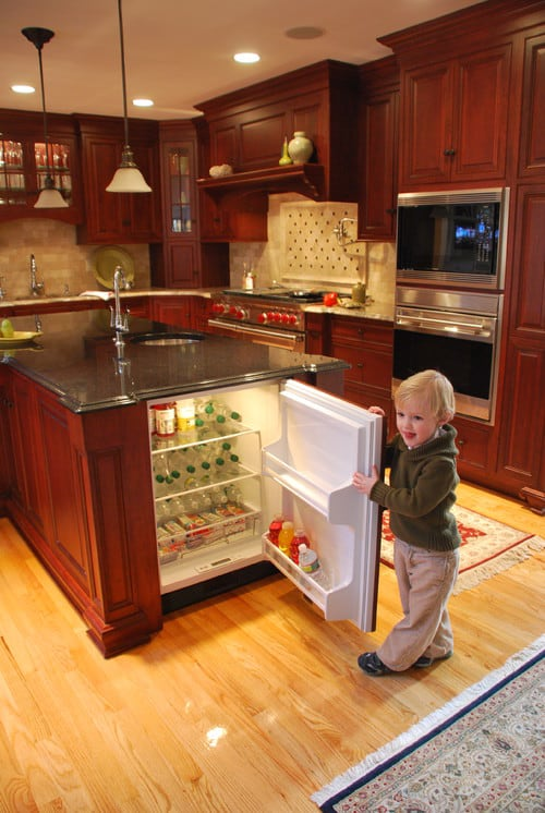 Maximizing Your Space With An Island Mini Fridge 123 Remodeling