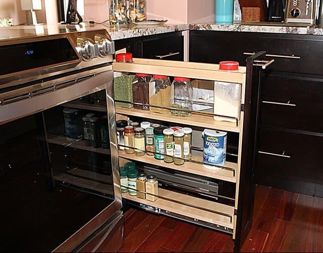 specialized kitchen storage