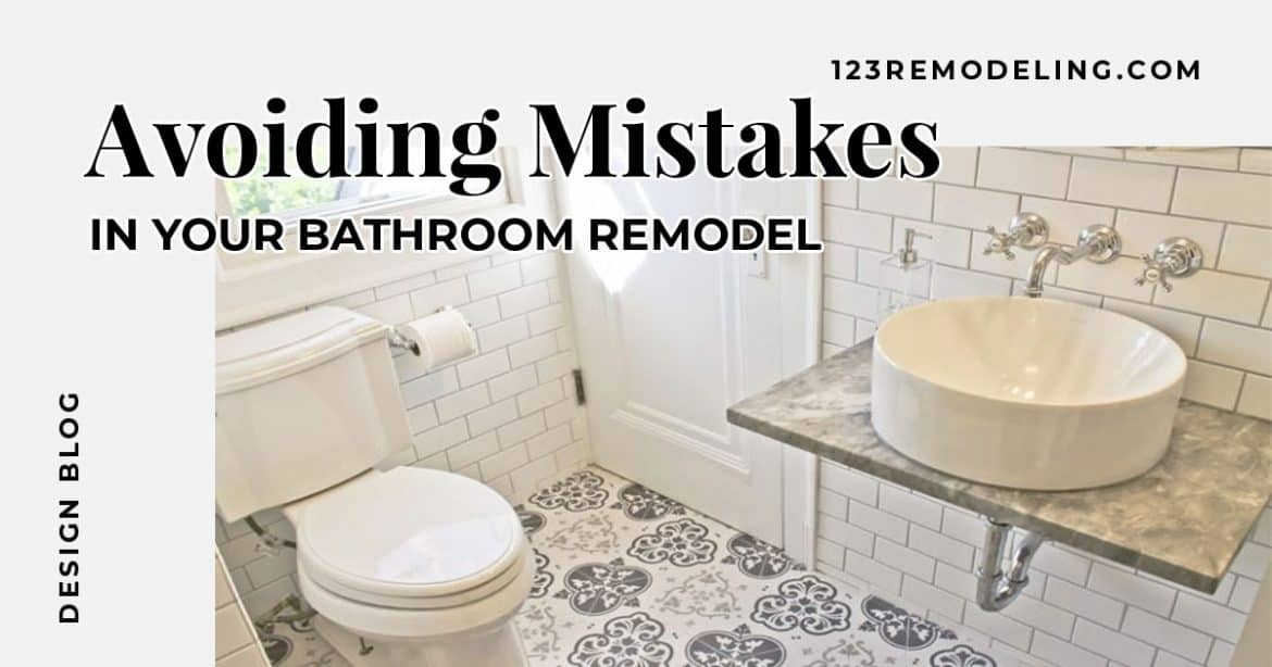 Avoiding Mistakes In Your Bathroom Remodel Remodeling - How much to spend on bathroom remodel