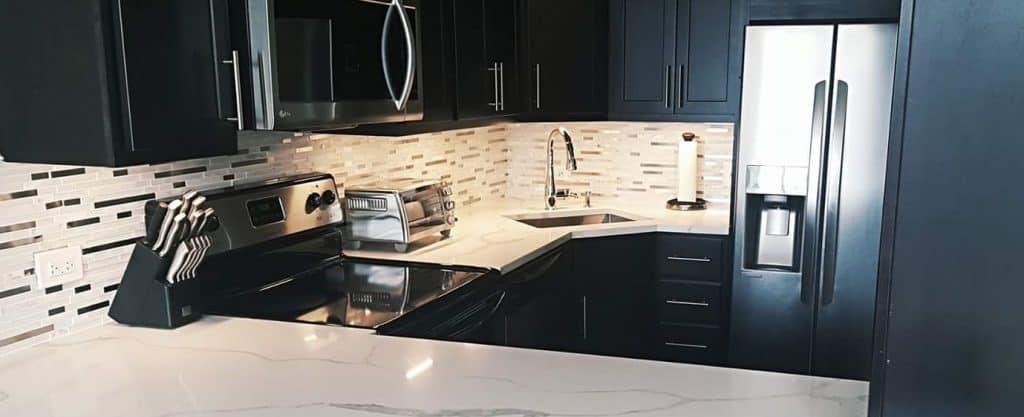 If You Think Only Mansion Sized Kitchens Can Look Beautiful, Then Youu0027re  Very Wrong. Even The Smallest Of Spaces Can Look Stylish And Be Highly  Functional.