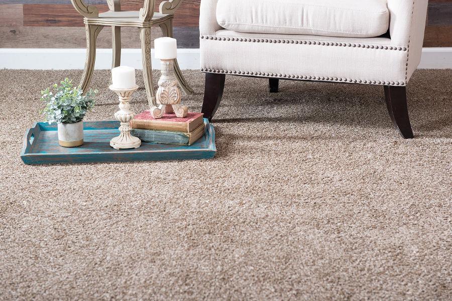 carpet flooring with decor
