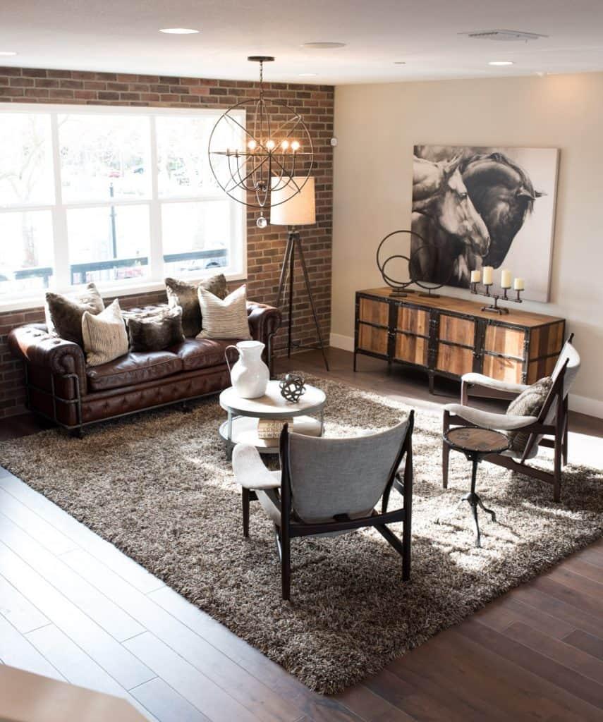 industrial design living room