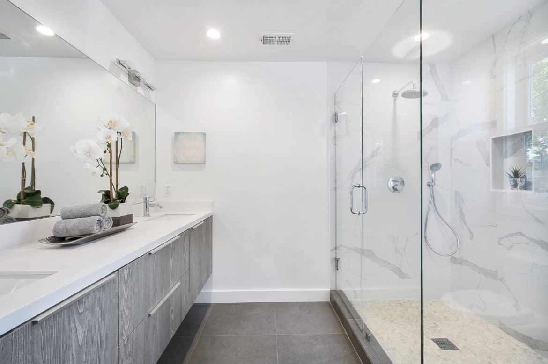 bathroom spa shower