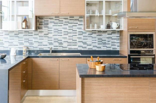 modern wood kitchen
