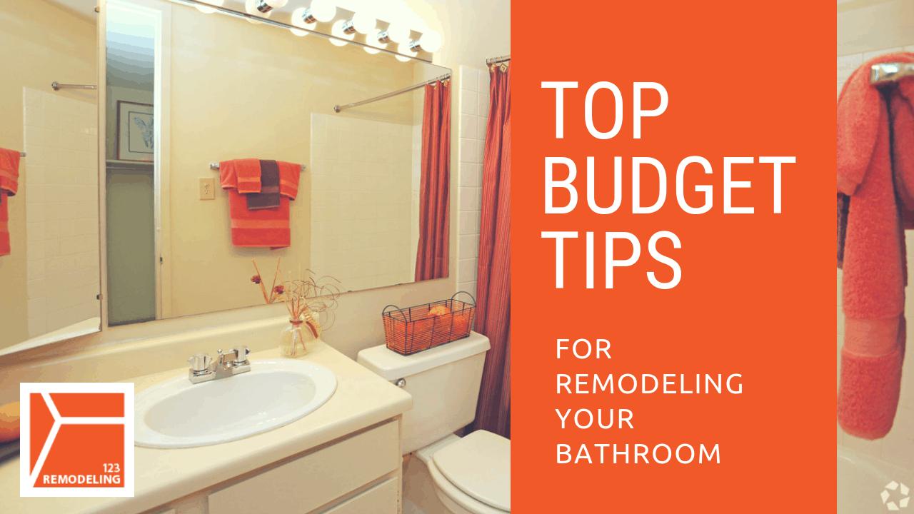 budgeting tips for bathroom remodeling 123 remodeling