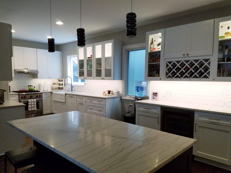 recessed kitchen lighting