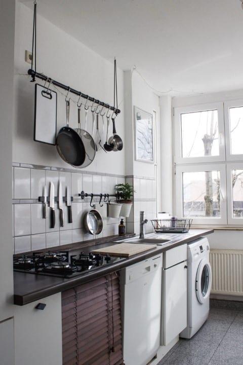 compact kitchen layout