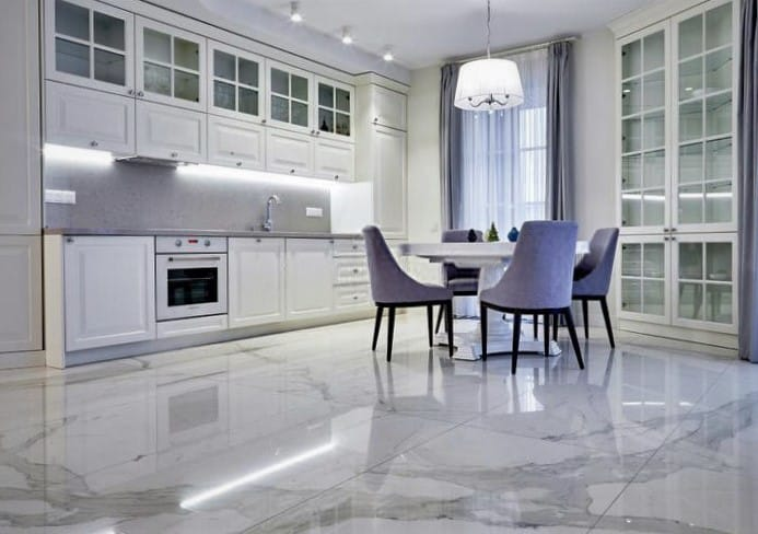 Natural Stone: 6 Durable Options for your Kitchen Floor