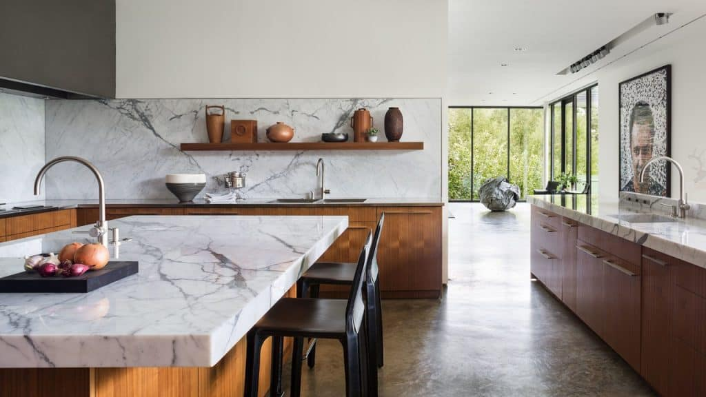 Marble-look Countertops