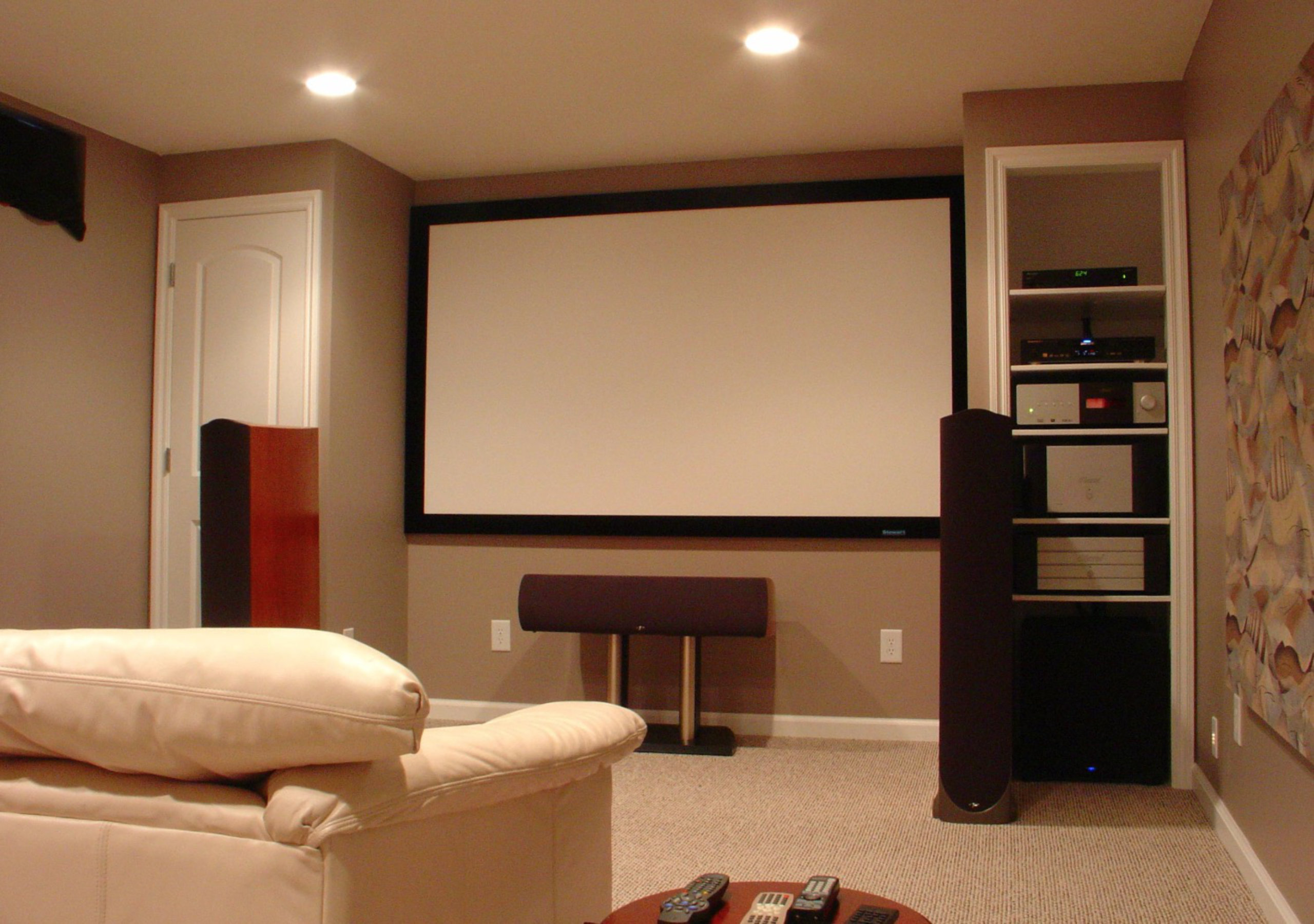 Chicago Basement Remodeling Home Theater
