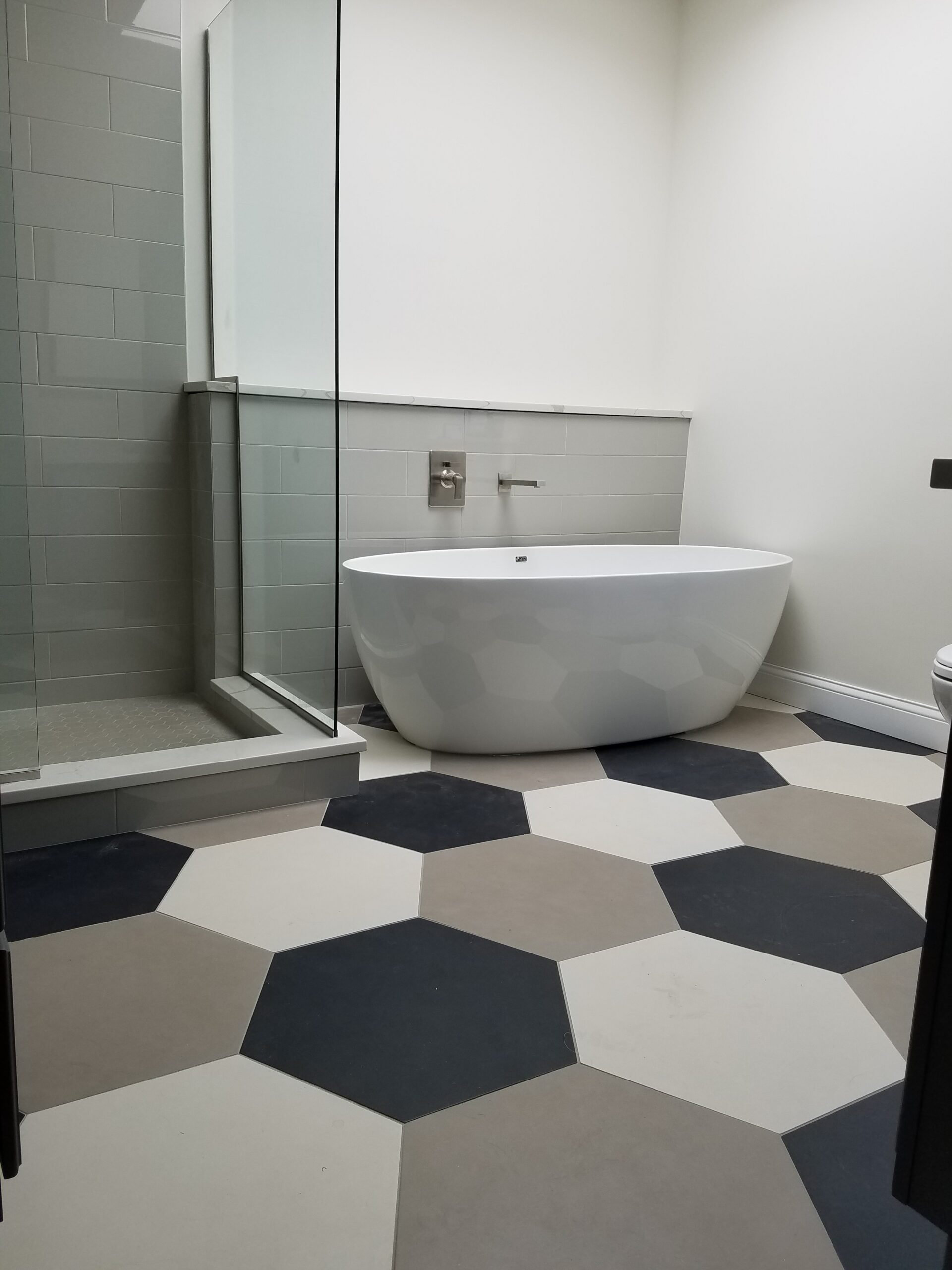 Chicago Bucktown Rowhouse Master Bathroom Remodel