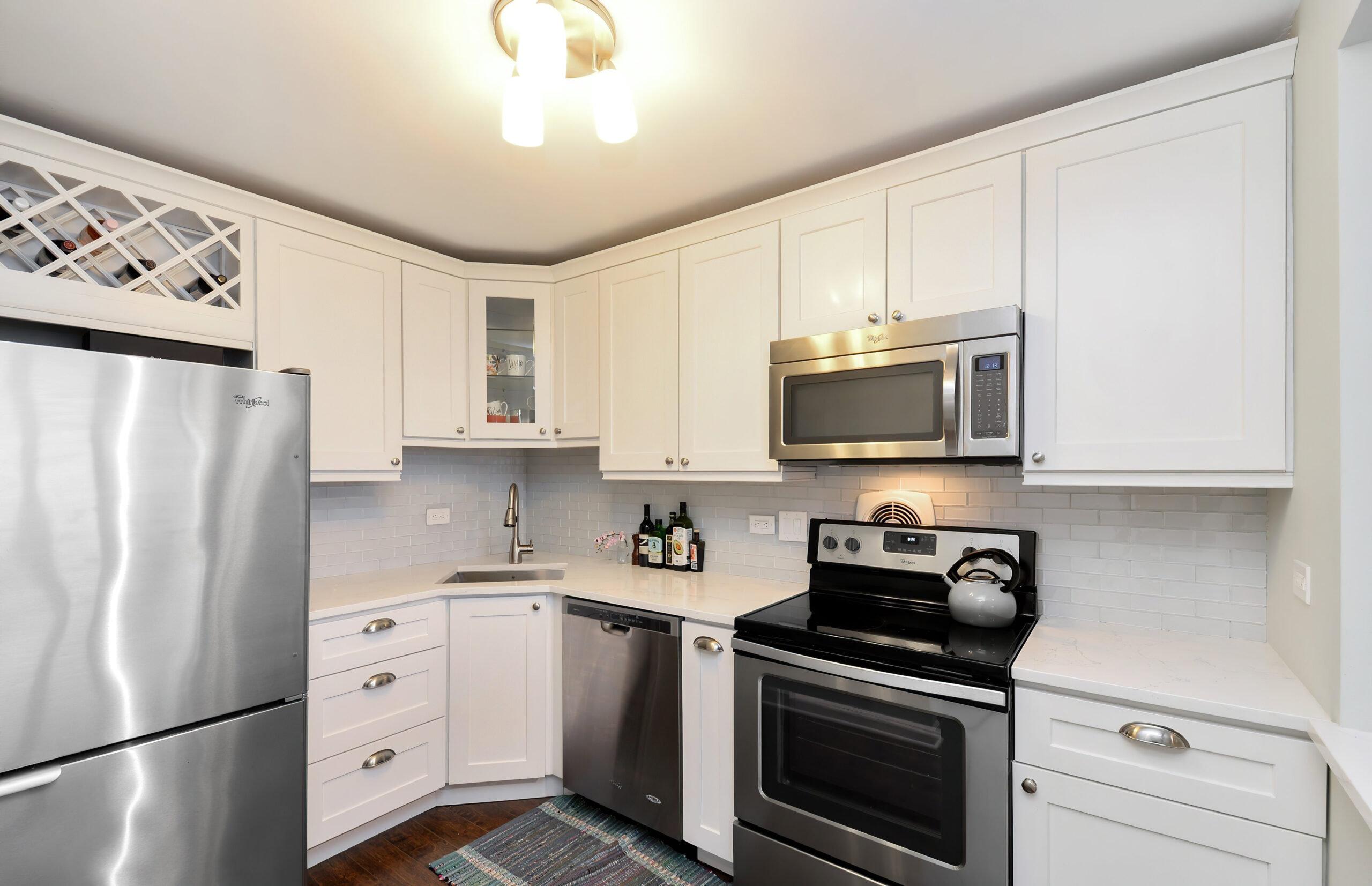 Chicago Gold Coast Condo Kitchen Renovation