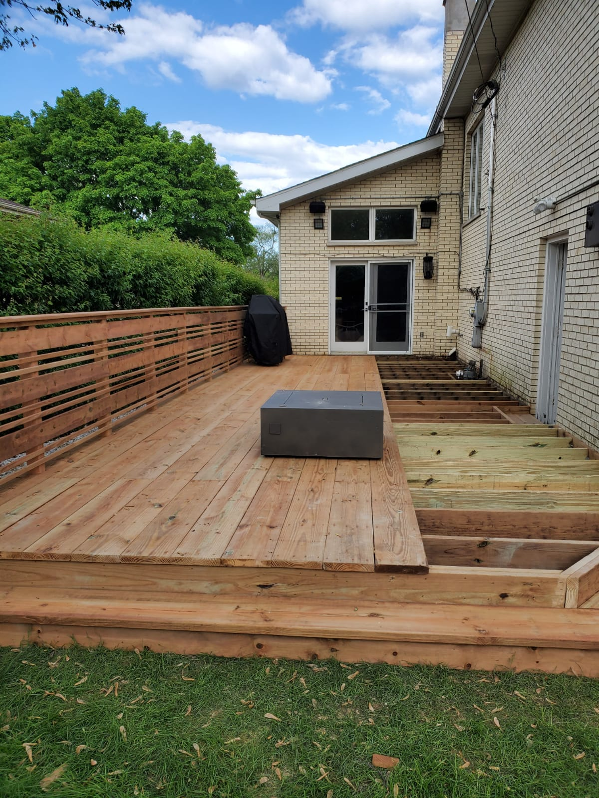Chicago Lincoln Park Deck Construction
