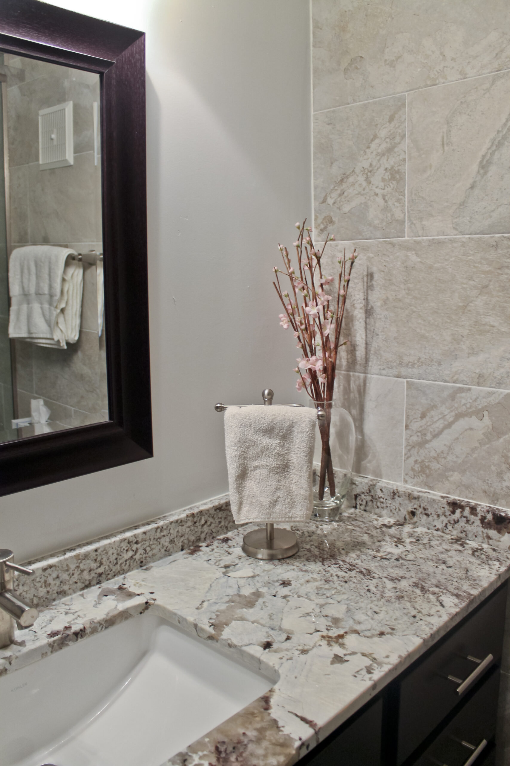 Chicago Magnificent Mile Condo Bathroom Remodel