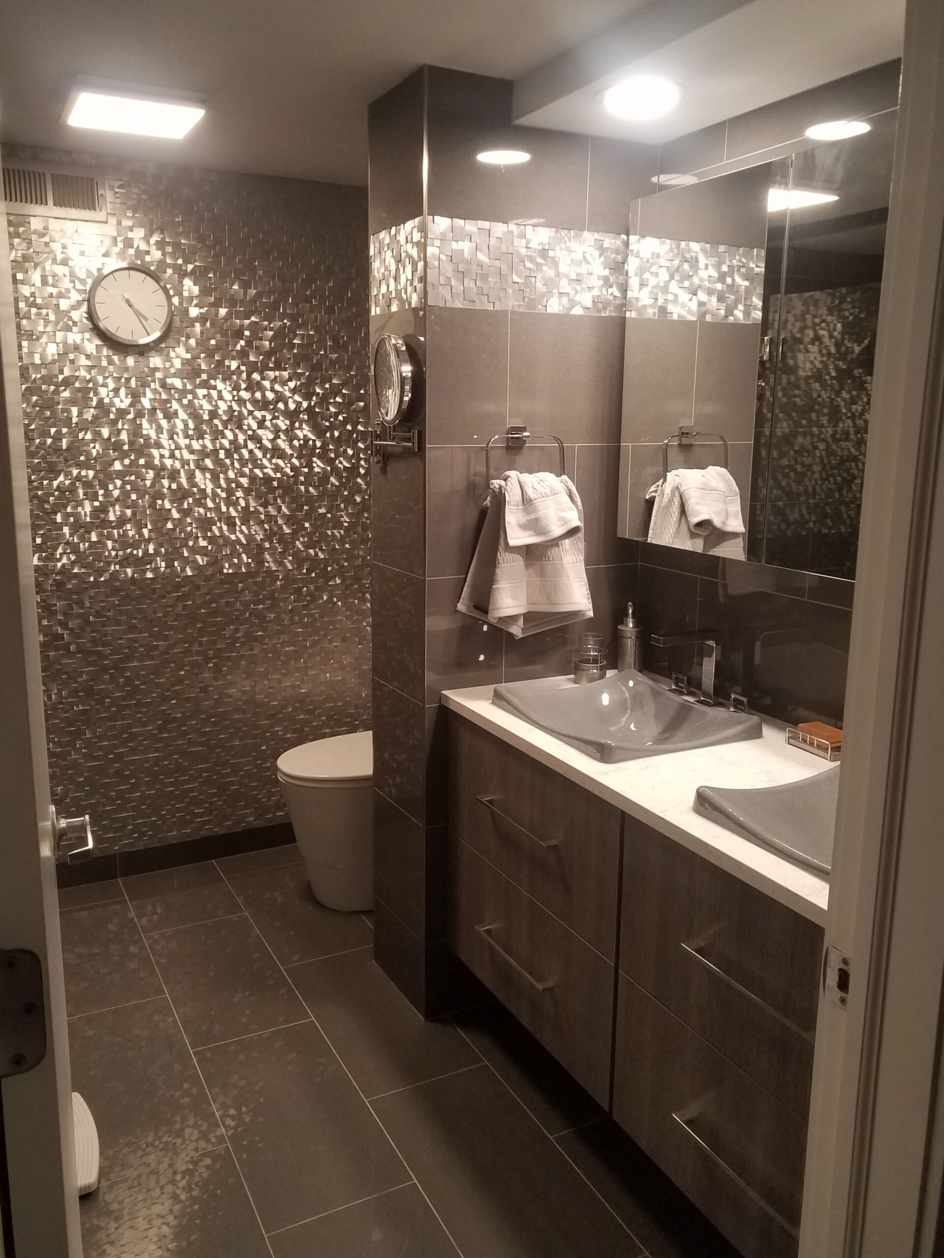 Chicago Montrose Bathroom Remodel