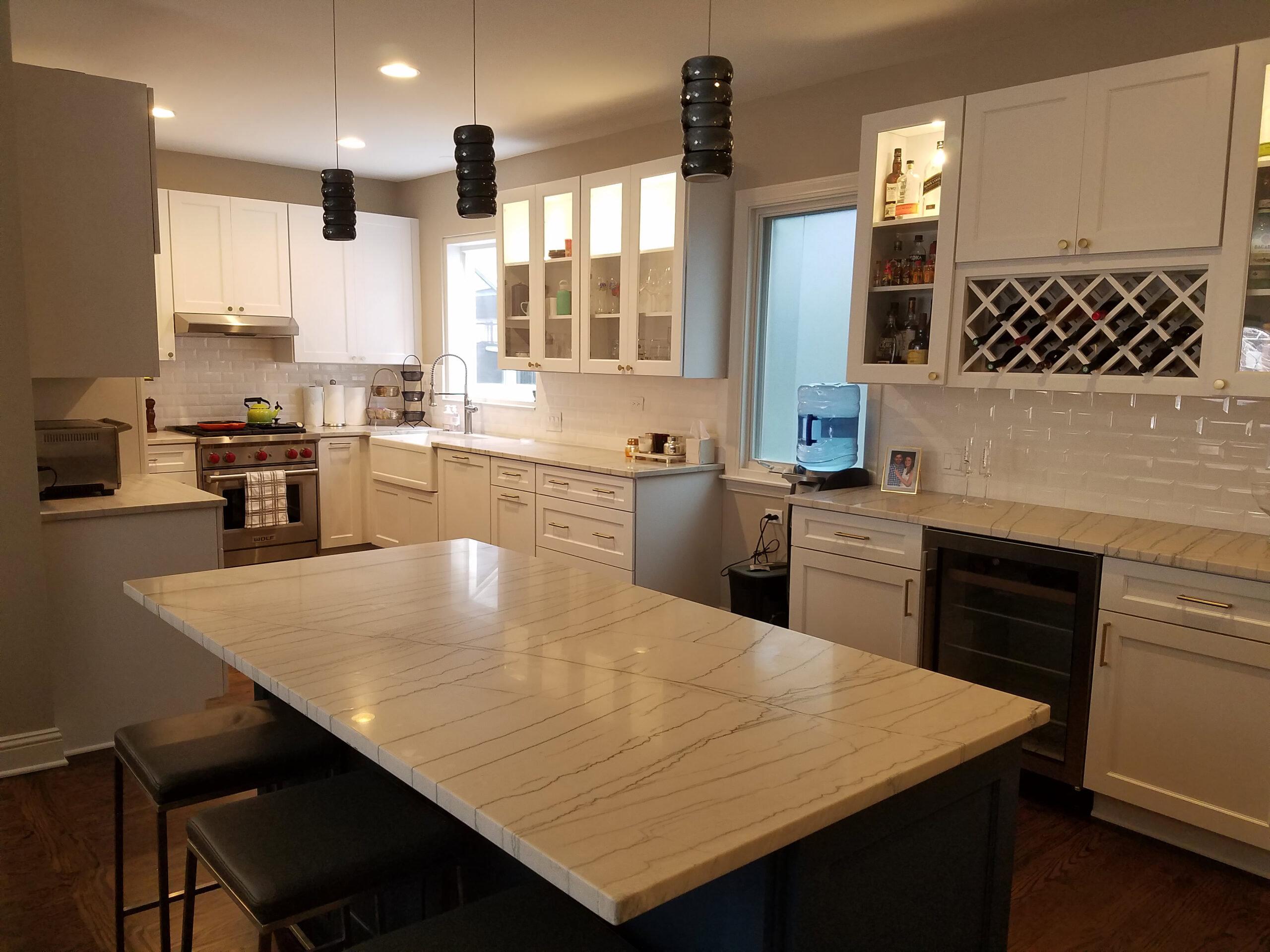 near north side kitchen remodel