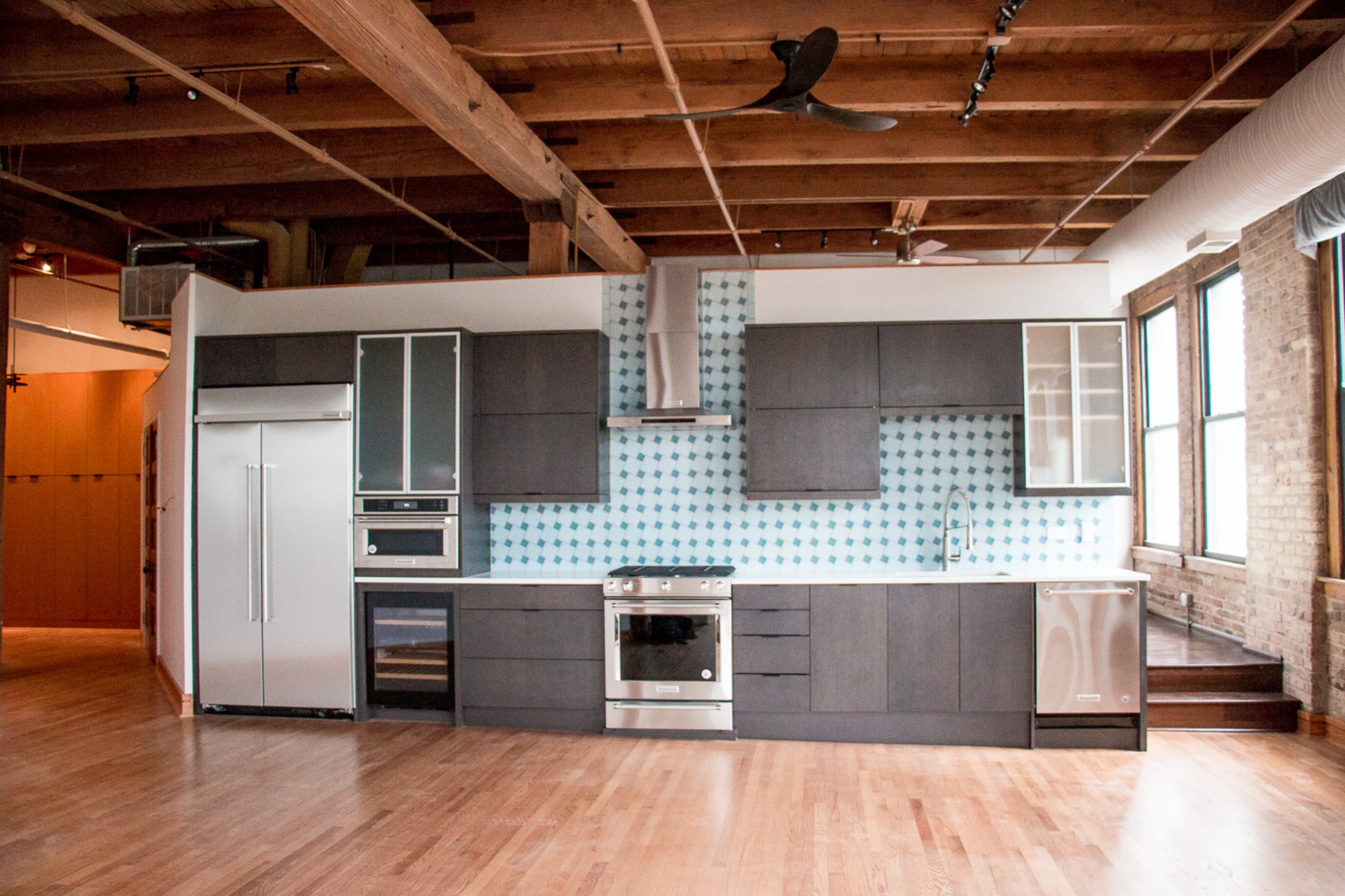 Chicago Near West Condo Kitchen Remodel