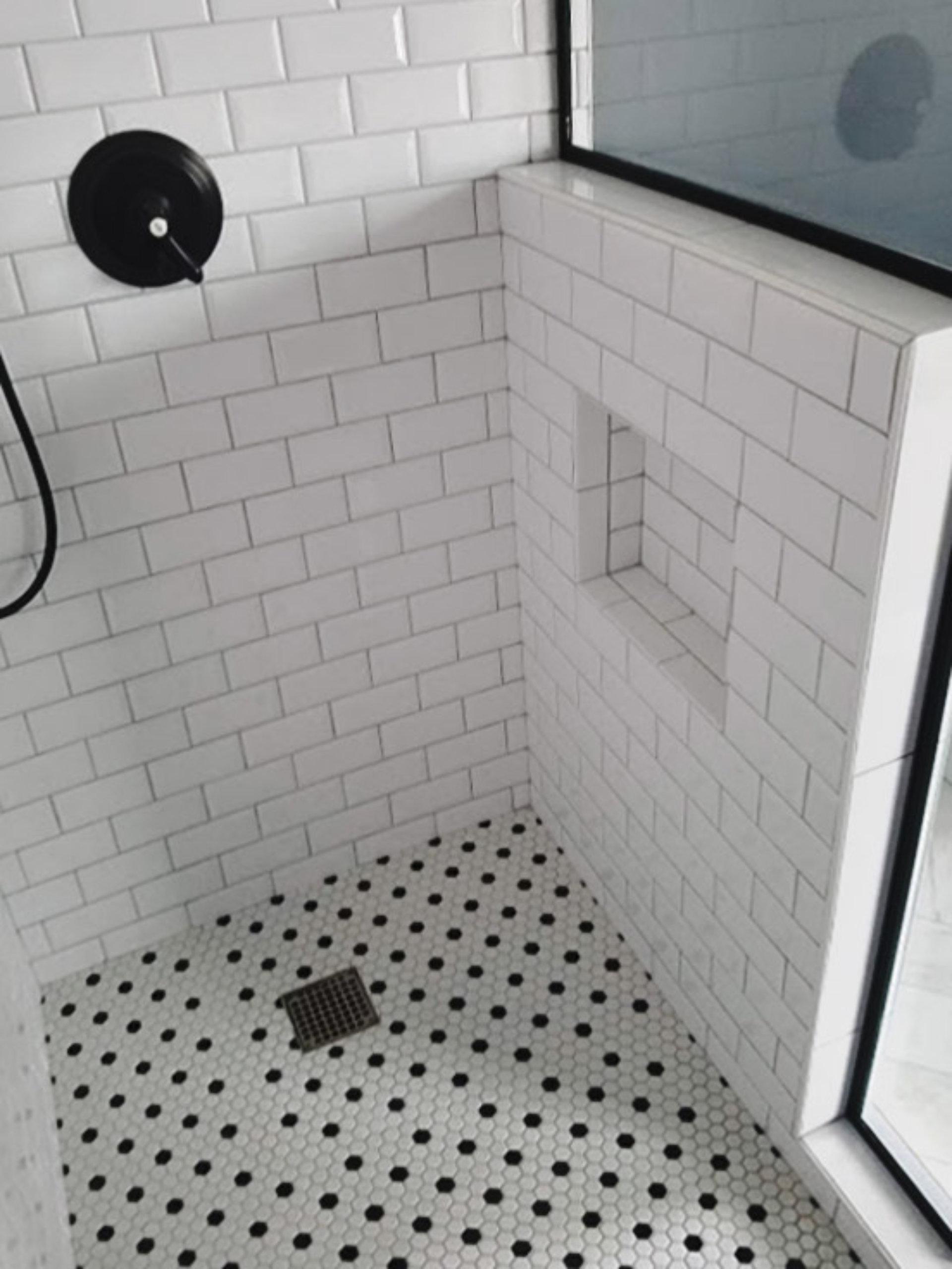 Chicago Pilsen Bathroom Shower Remodel