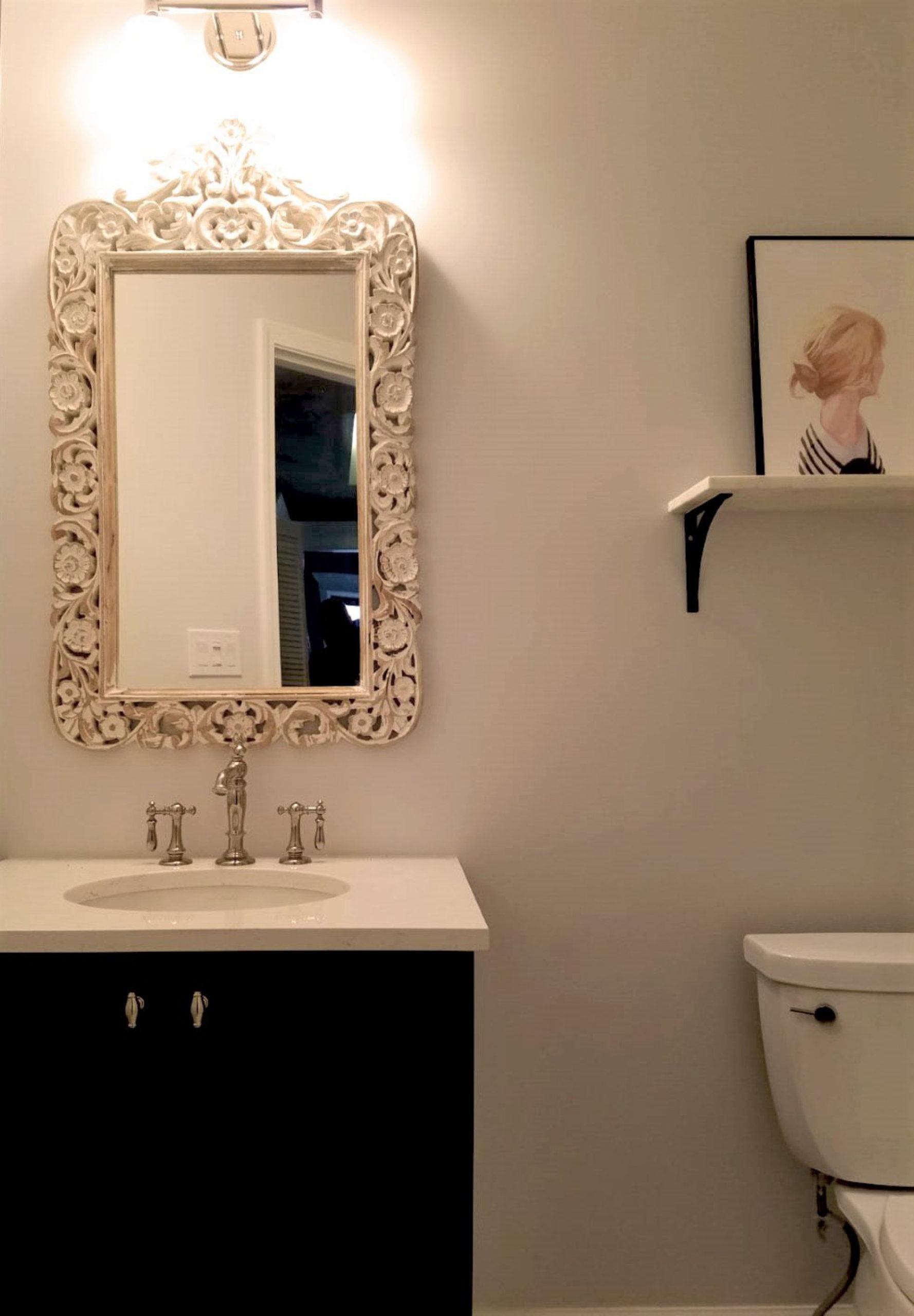 Chicago Ravenswood Guest Bathroom Remodel