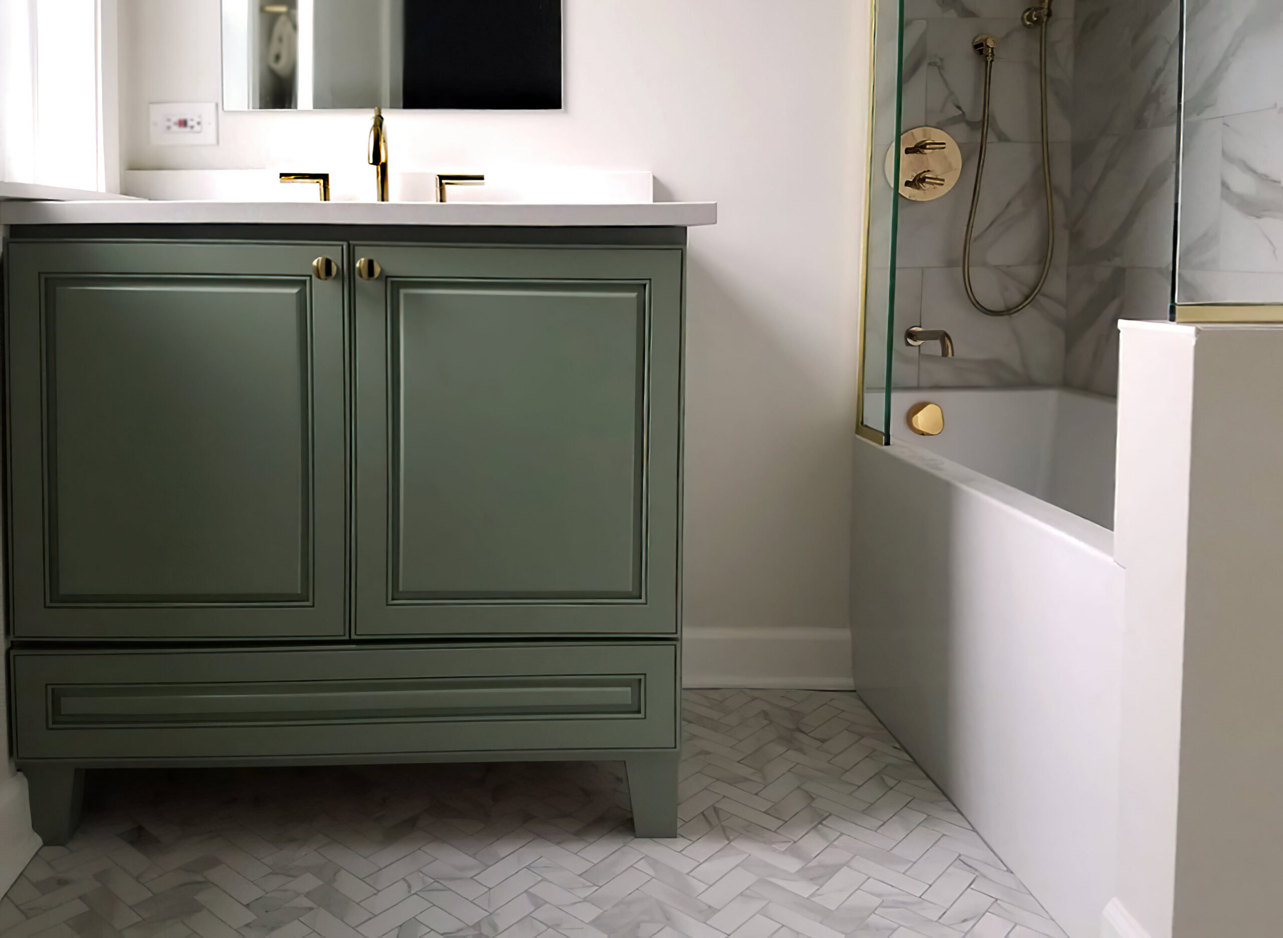 Chicago Ravenswood Master Bathroom Remodel