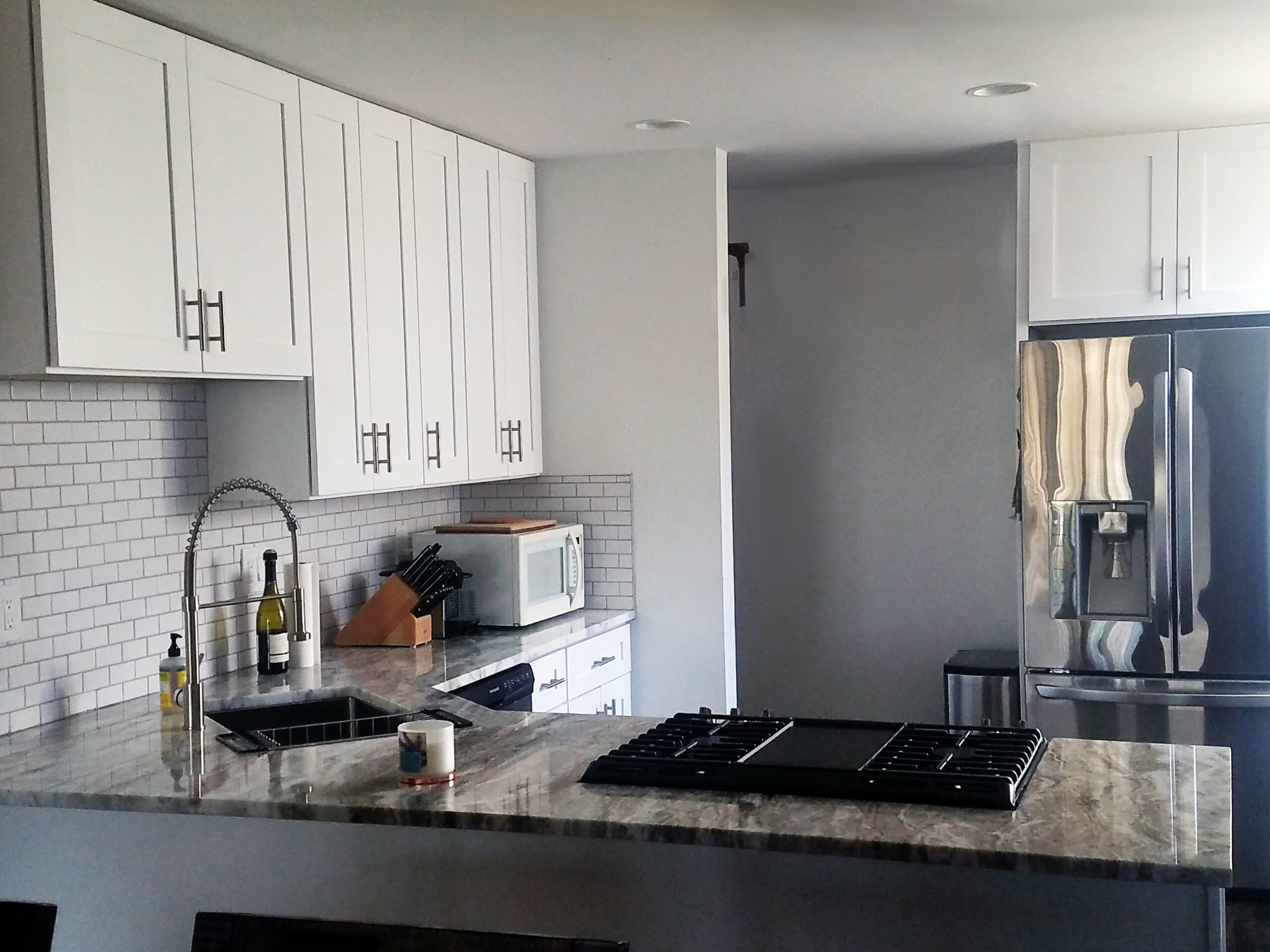 Chicago Rogers Park Transitional Kitchen Remodel