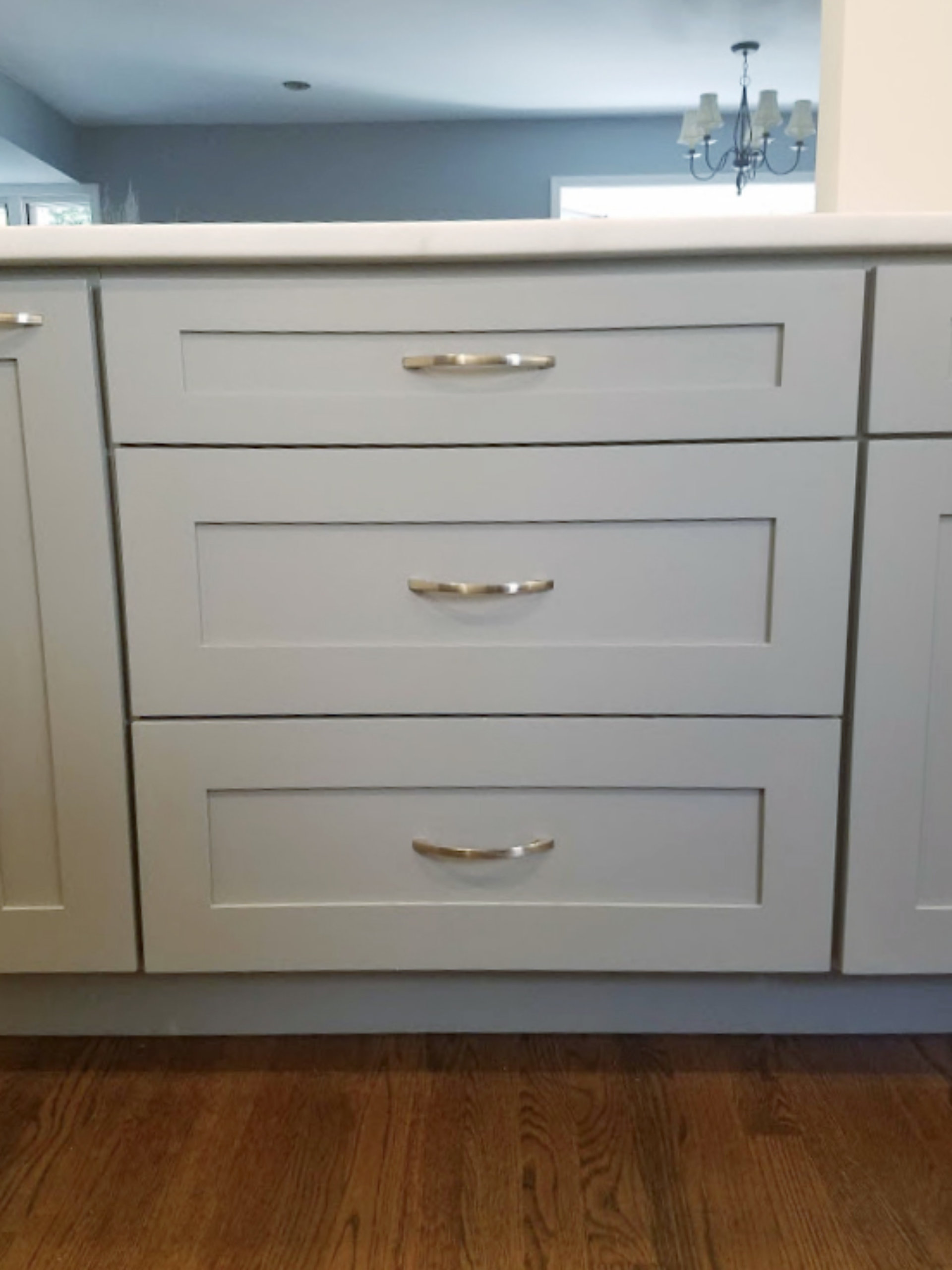 Chicago Sheffield Kitchen Remodeling Drawers