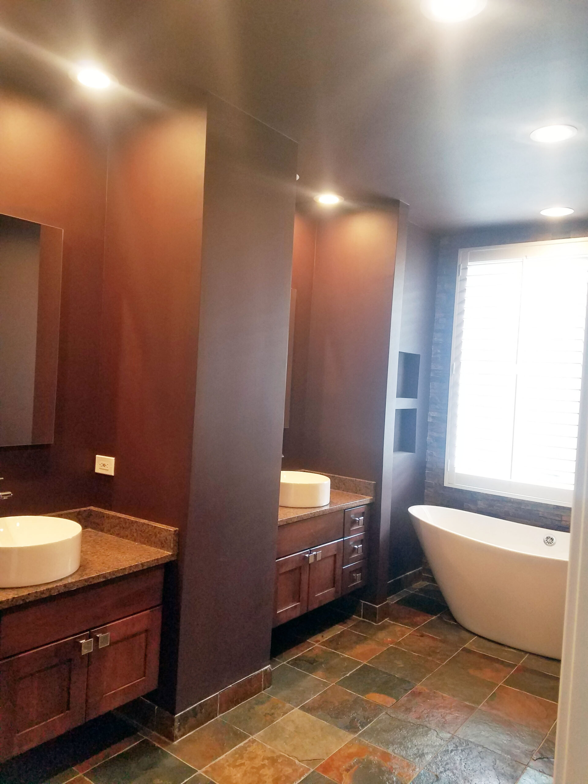 Chicago South Loop Rustic Bathroom Remodeling