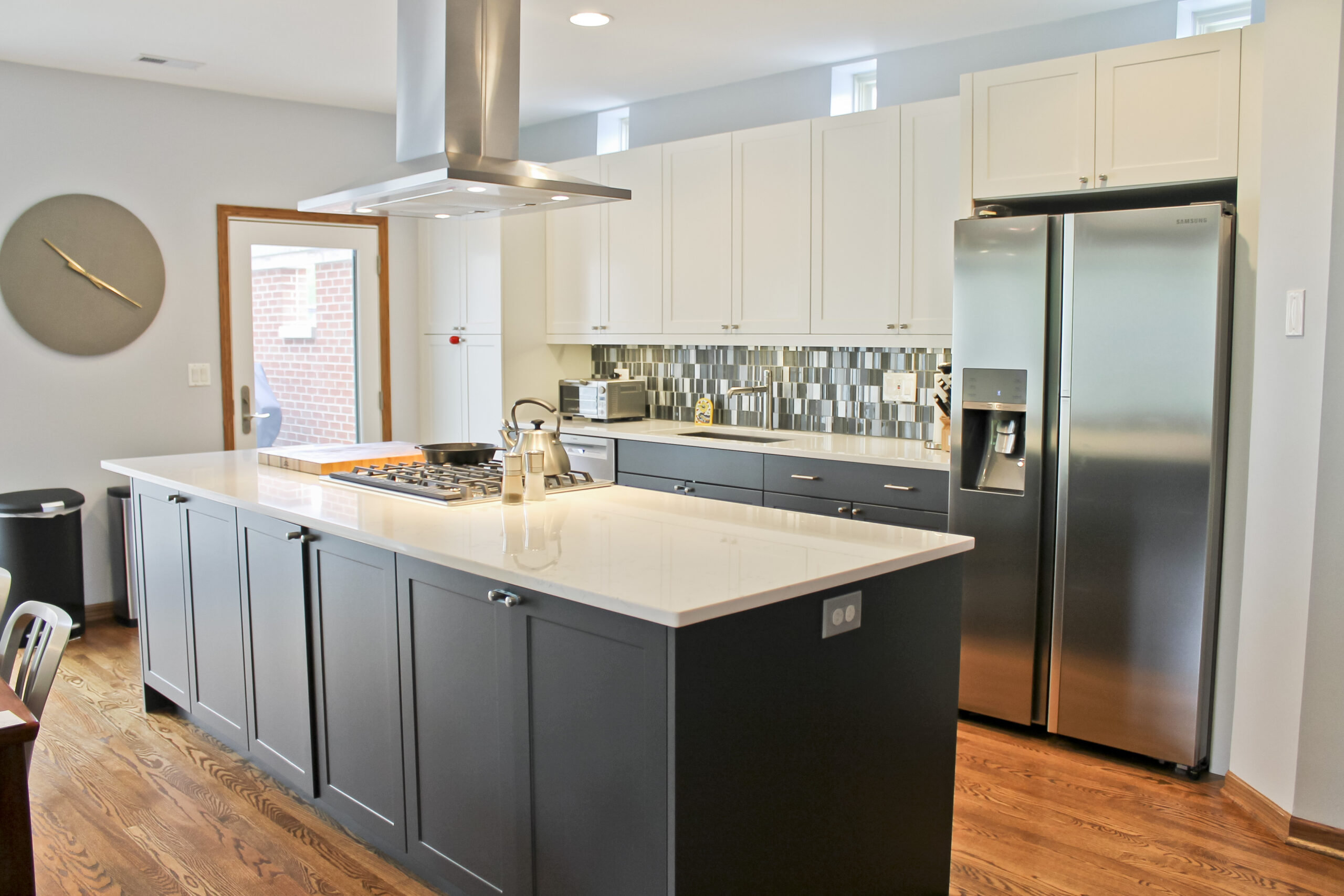Chicago South Loop Townhouse Kitchen Remodel