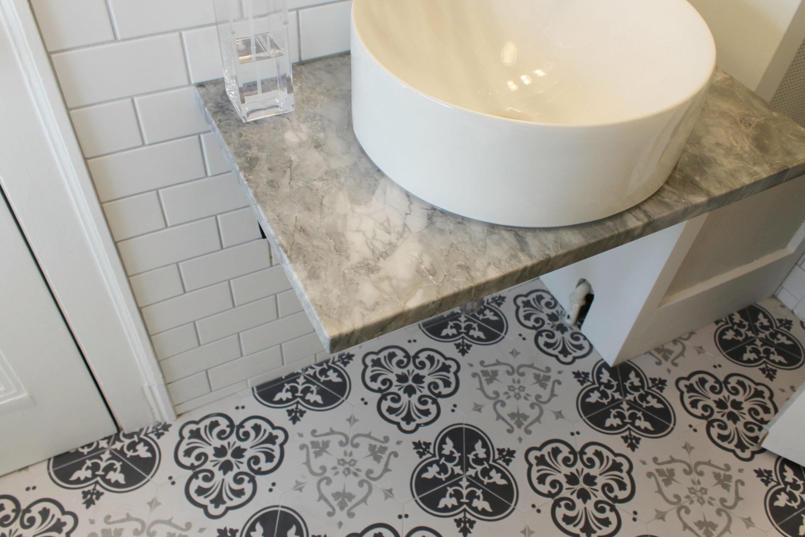 Evanston IL Traditional Bathroom Remodel Sink